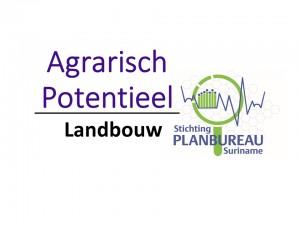 Agrarisch Potentieel - Landbouw