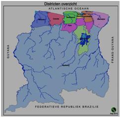 Structuuranalyse van de districten IV